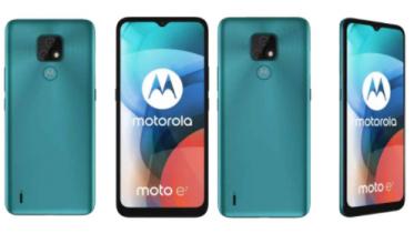 Billeder lækket af Moto E7 – low-end fremgang fra Motorola