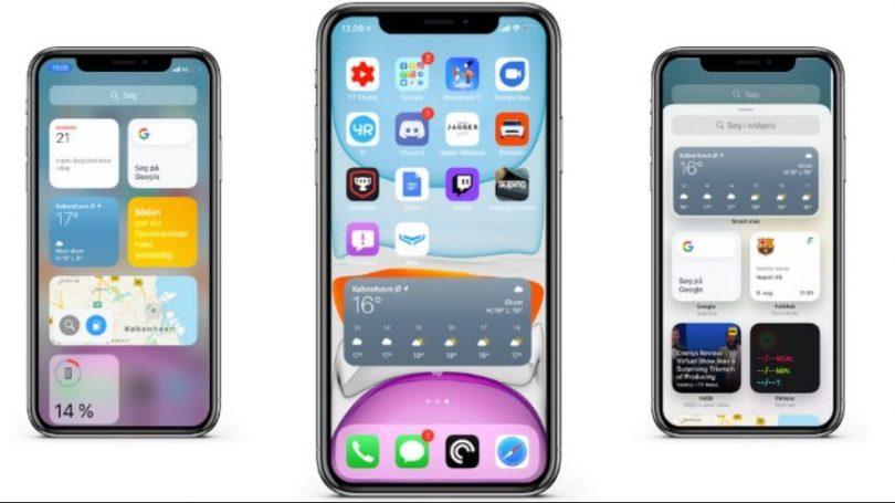 Flere widget-muligheder med iOS 14 var det rette valg