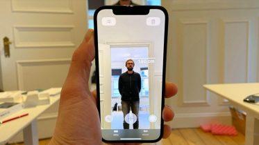 Mål højde på personer med iPhone 12 Pro