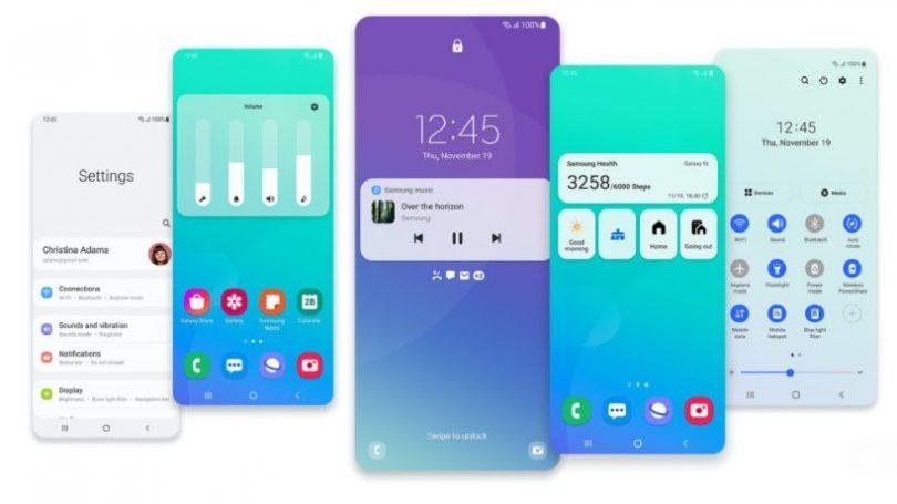 Samsung One UI 3 med Android 11 lanceret