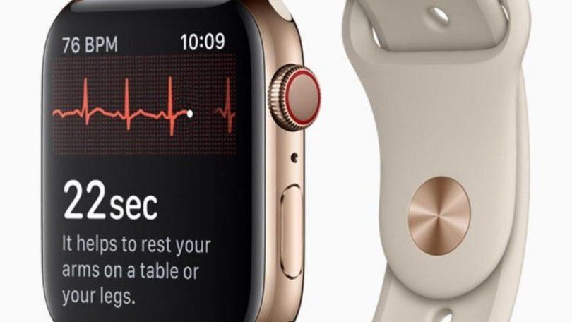 Apple sagsøgt for EKG-monitoren i Apple Watch