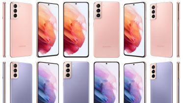 Alle farver i Samsung Galaxy S21 serien afsløret – i høj kvalitet