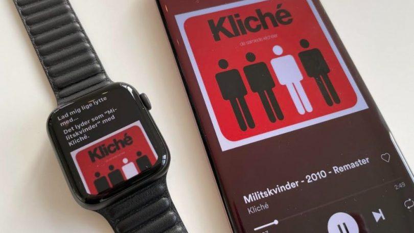Identificér sange med Apple Watch – så let er det