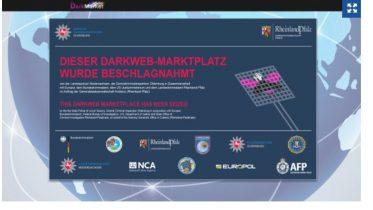Europol har lukket den illegale markedsplads Dark Market