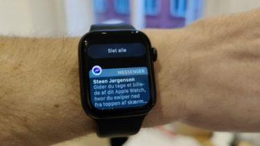 Fjern alle notifikationer på Apple Watch – lynguide
