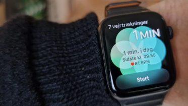 Håndtér stress, blodtryk og angstanfald med Apple Watch