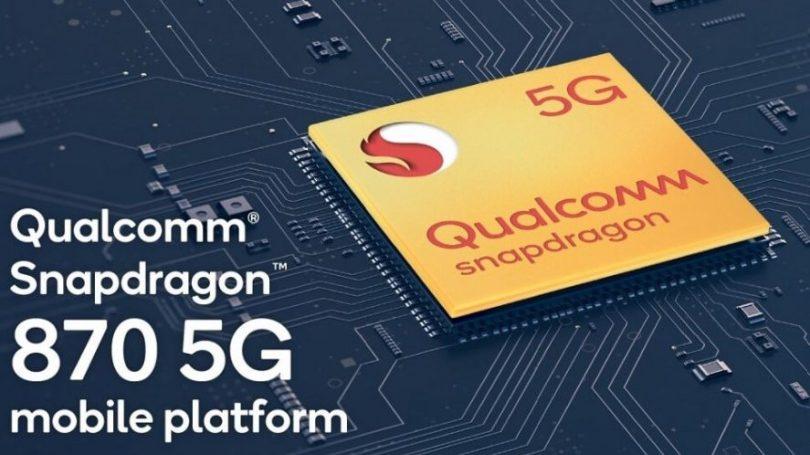 Qualcomm Snapdragon 870 5G – til lidt billigere flagskibe i 2021