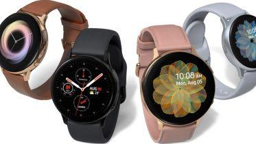 Galaxy Watch Active 2 får mange nye fitness-funktioner