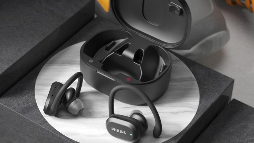 Philips A7306 Sports True Wireless – renses med UV-lys