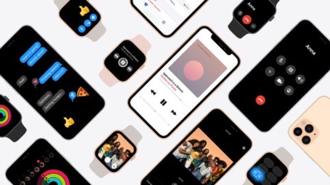 Med iOS 14.5 kan iPhone låses op med Apple Watch