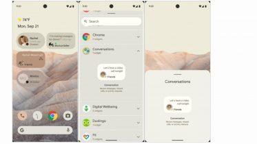 Android 12 – første kig på redesignet og nye funktioner