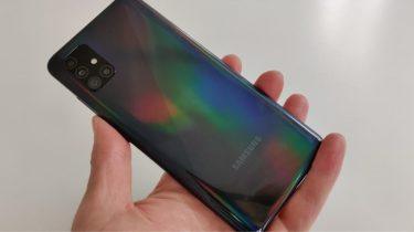 Samsung Galaxy A52 ligner et brag af en mobil