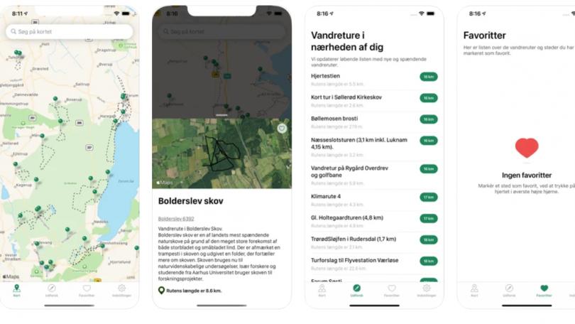 Vandreruter og Vandreture i DK – 2.100 ruter i Danmark