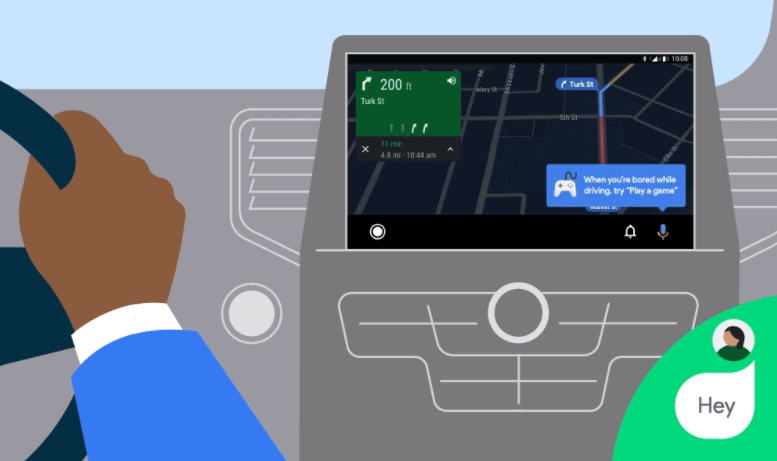 android auto stemmestyrede spil