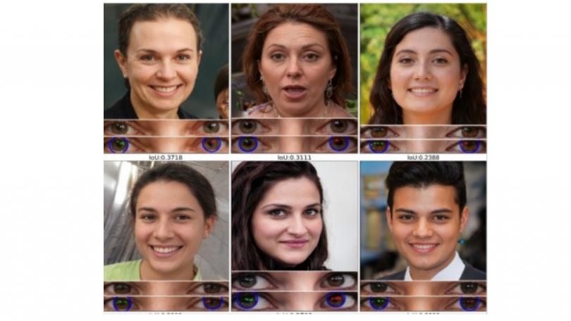 Deepfakes kan afsløres ved at analysere refleksioner af lys i øjne