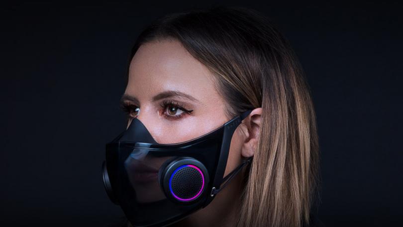 Razer bekræfter planer om smart RGB-ansigtsmaske