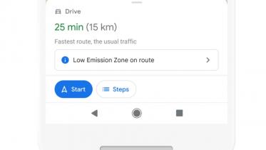 Opdatering af Google Maps viser de mest brændstofeffektive ruter