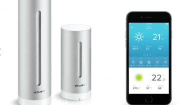 Netatmo Smart Vejrstation: Få styr på temperatur, luftkvalitet og -fugtighed