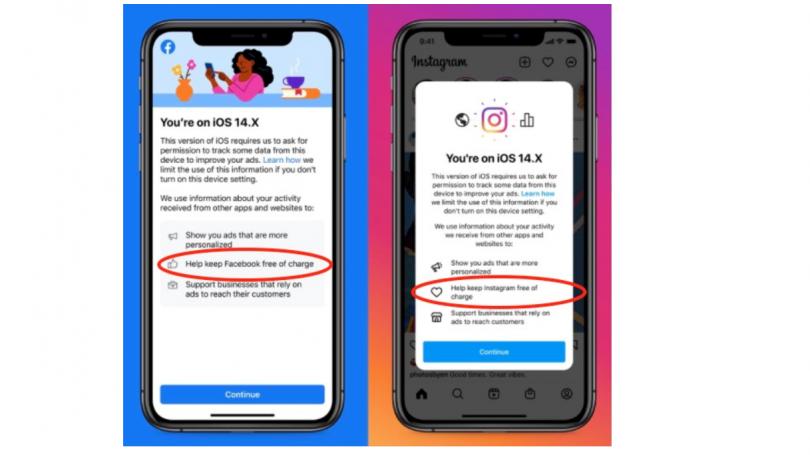 Apples App Tracking Transparency får Facebook til at true med betaling