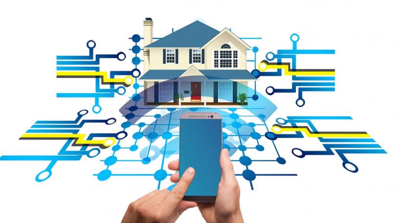Smart home produkter i flere danske hjem
