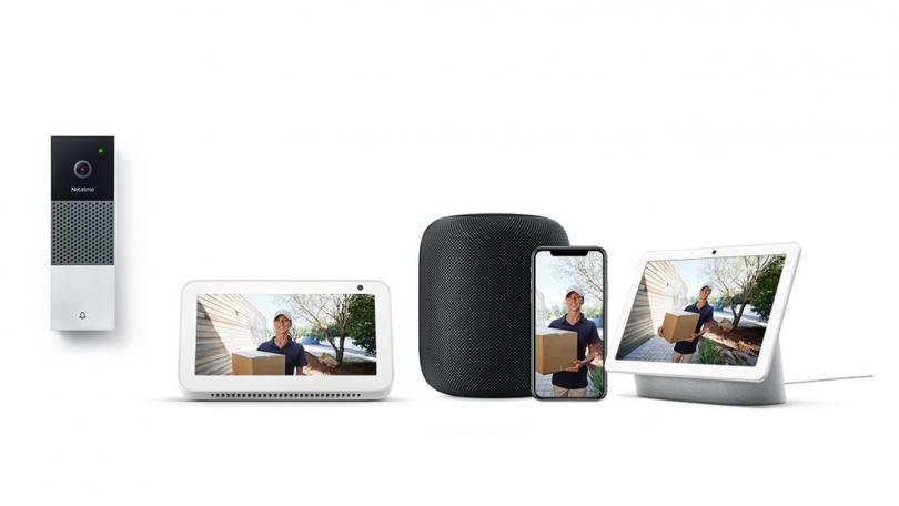 Netatmos videodørklokke understøtter nu Google Assistent og Amazon Alexa