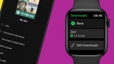 Download Spotify-sange til dit Apple Watch