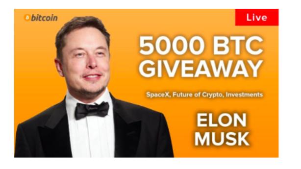 Elon Musk og Tesla bruges til bitcoin-svindel