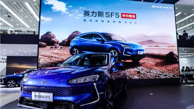 Huawei oplever stor efterspørgsel på smarte biler