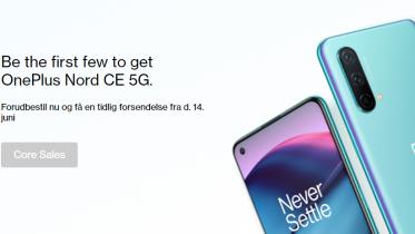 Eksklusivt pre-sale: Få OnePlus Nord CE 5G før tid