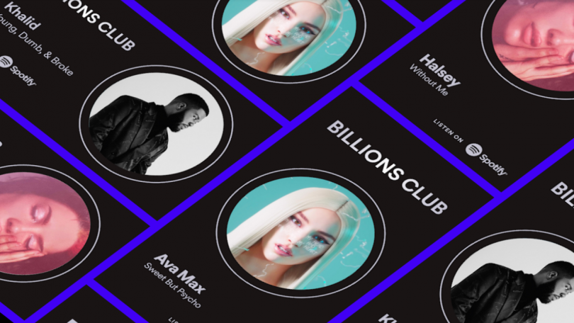 Spotify Billions Club – to danske kunstnere er på listen