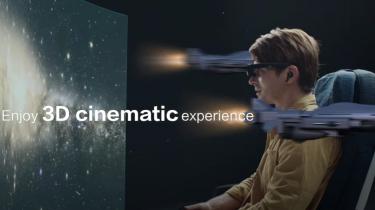 TCL NXTWear G brille bliver til 140-tommers skærm fra Sony
