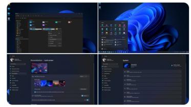 Windows 11-indstillinger og File Explorer-app lækket