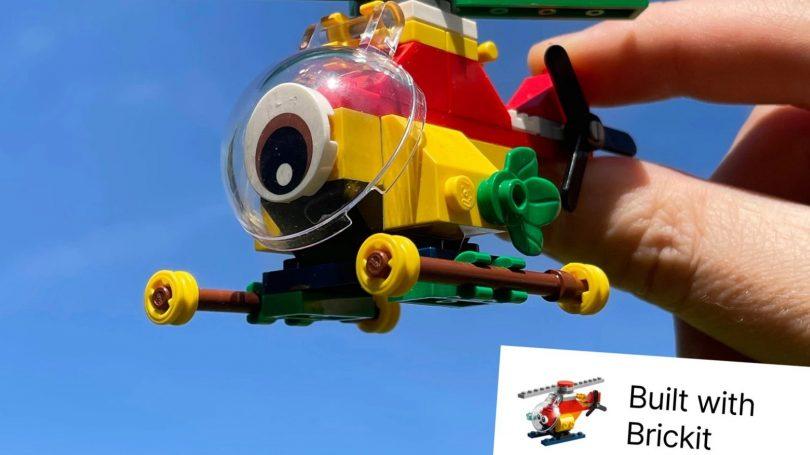 Få idéer til Lego-byggeriet med smart app