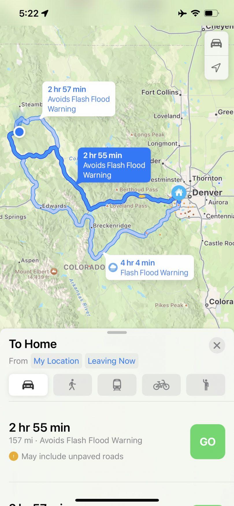 Apple Kort Maps