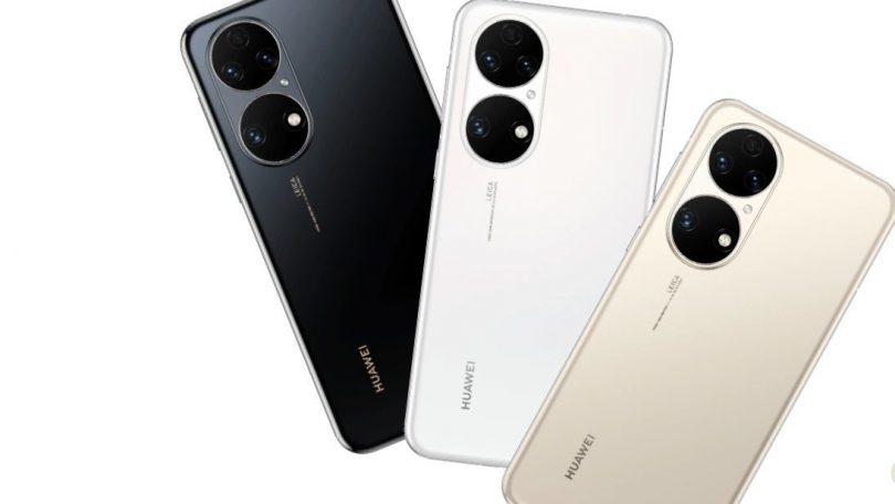 Huawei P50-serien lanceret uden 5G men med flot skærm og kamera