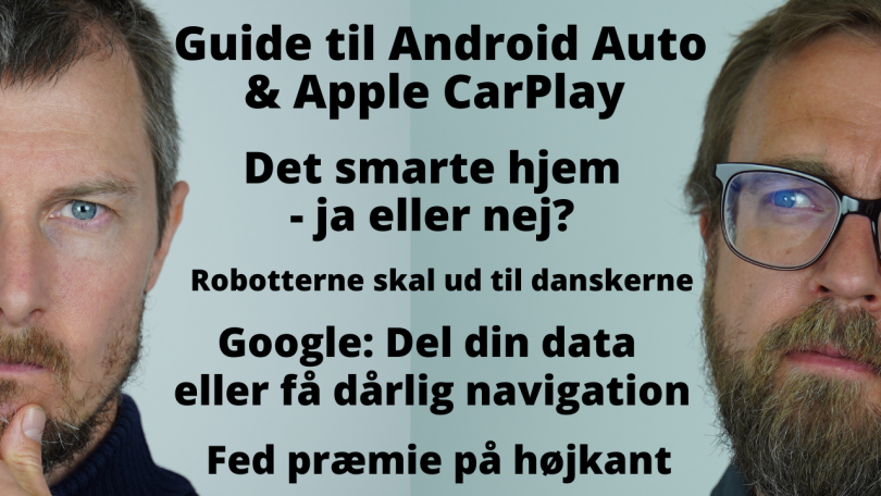 Hvad kan man med Android Auto og Apple Carplay?