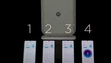 Motorola klar med trådløs oplader med tre meters rækkevidde