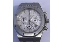 Orologio con cassa e cinturino in acciaio, marca Audemars Piguet, automatico, ...