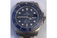 Orologio con cassa e cinturino in oro bianco 18 kt. marca Rolex