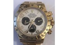 Orologio con cassa e cinturino in oro 18 kt. marca Rolex, automatico, cronografo, ...