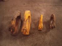 N.4 ganci scavatrici