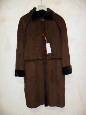 Telematics Auction N.1 Пальто в коричневом олене для женщины для ... 04d99d0a98f10