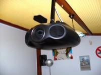 N.1 video proiettore laser marca Epson EH-LS 10000 di colore nero