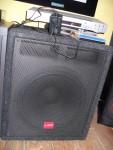 N.1 subwoofer (diffusore acustico) marca LEM  H3505A  composto da due pezzi