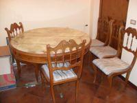 N. 1 Tavolo rotondo con 6 sedie