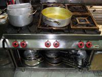 N.1 cucina a sei fuochi marca Desco