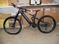 N. 2 Bici elettriche Lombardo Sempione di cui una misura S e una misura M, colore nero