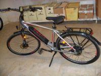 N. 1 Bici elettrica Atala 15-Spike 28 usata colore grigio