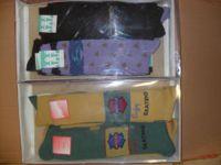 N.1000 mille paia di calze lunghe vari colori e misure.