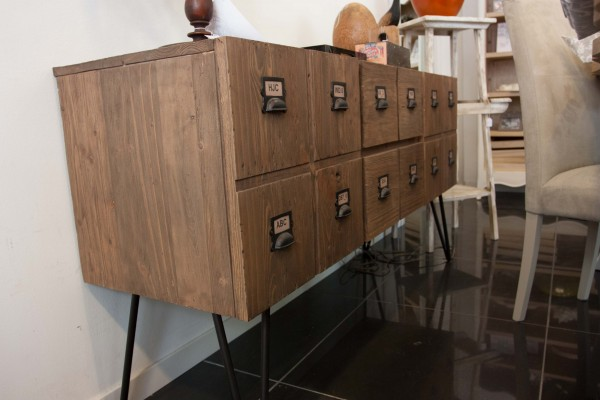 Lombardi Mobili Palestrina.Telematics Auction Wooden Sideboard With 2 Doors And 4